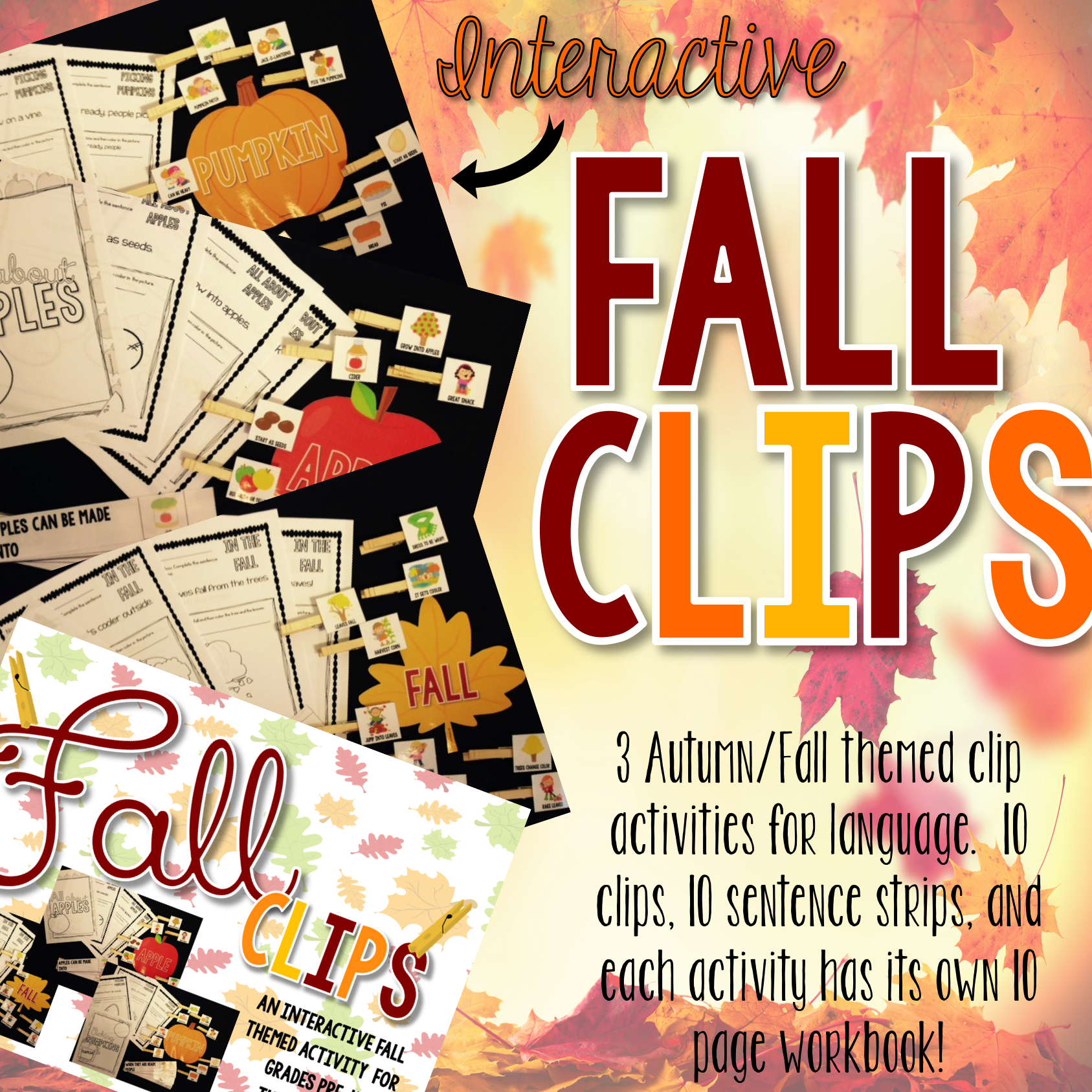 Interactive Fall Clips for Speech Therapy