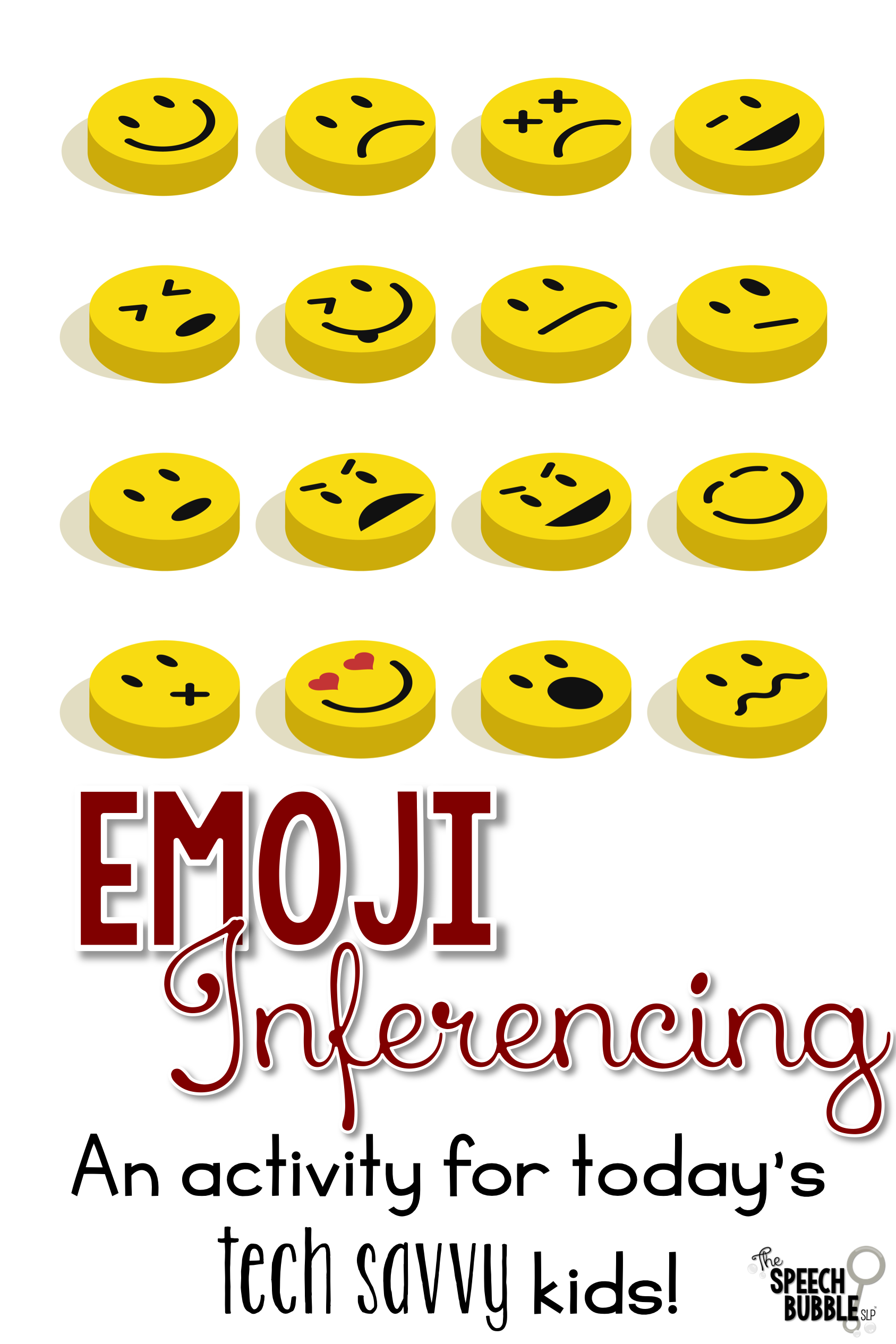 emoji inferencing in speech therapy the speech bubble slp