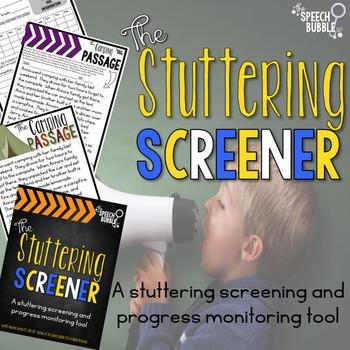 the stuttering screener fluency progress monitoring tool the speech bubble slp