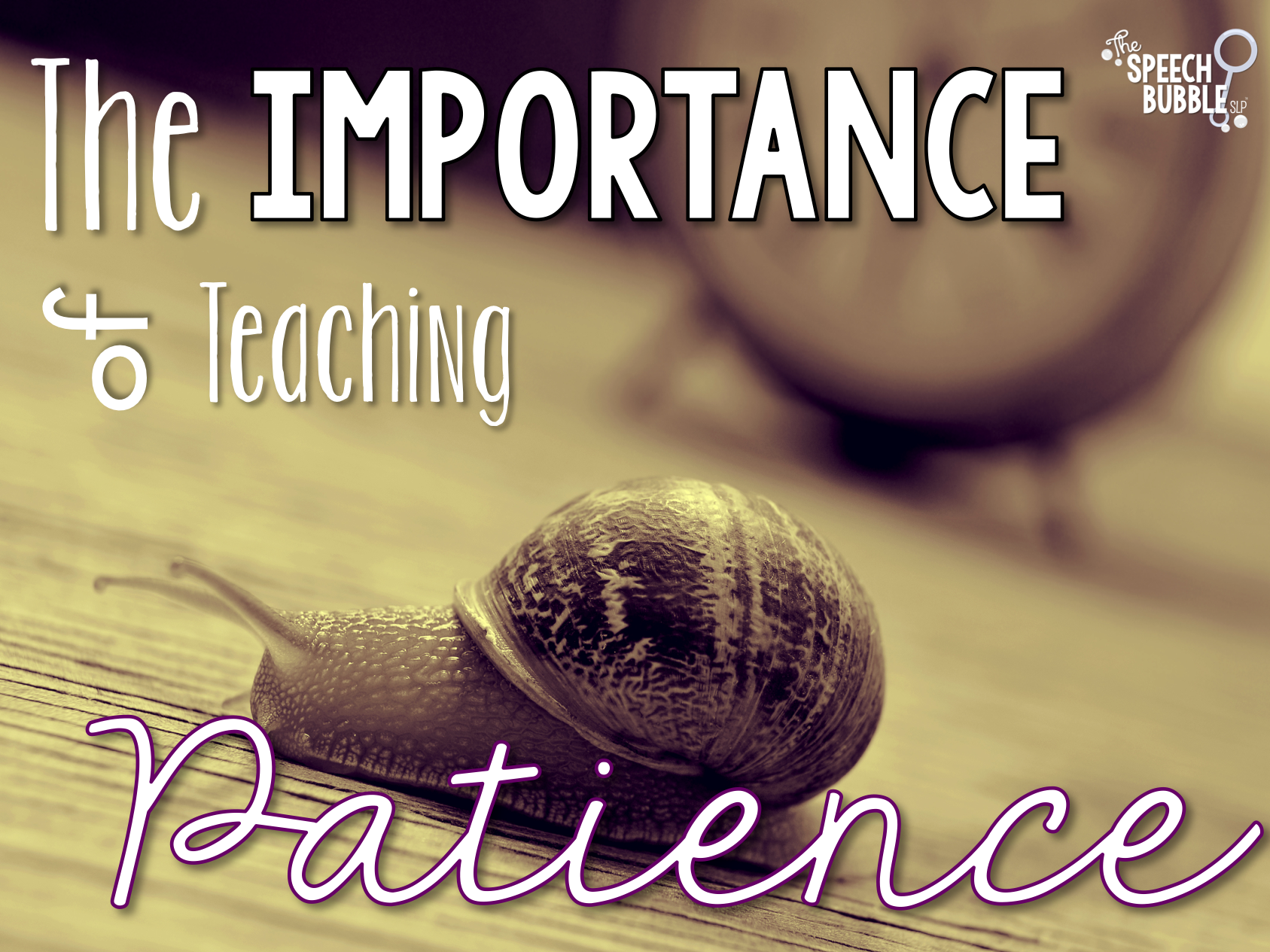 The Importance of Teaching Patience