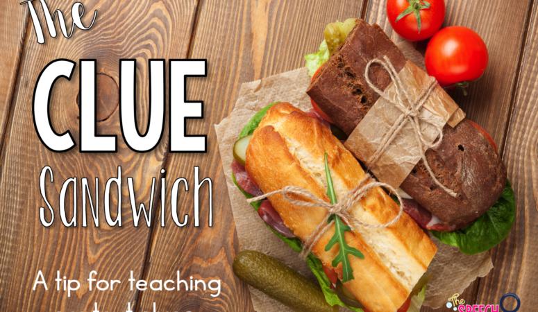 The 'Clue Sandwich'