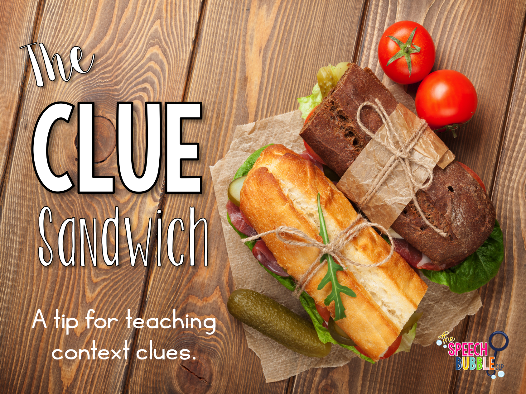The 'Clue Sandwich'