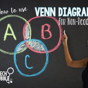 How to use Venn Diagrams for Non-Readers