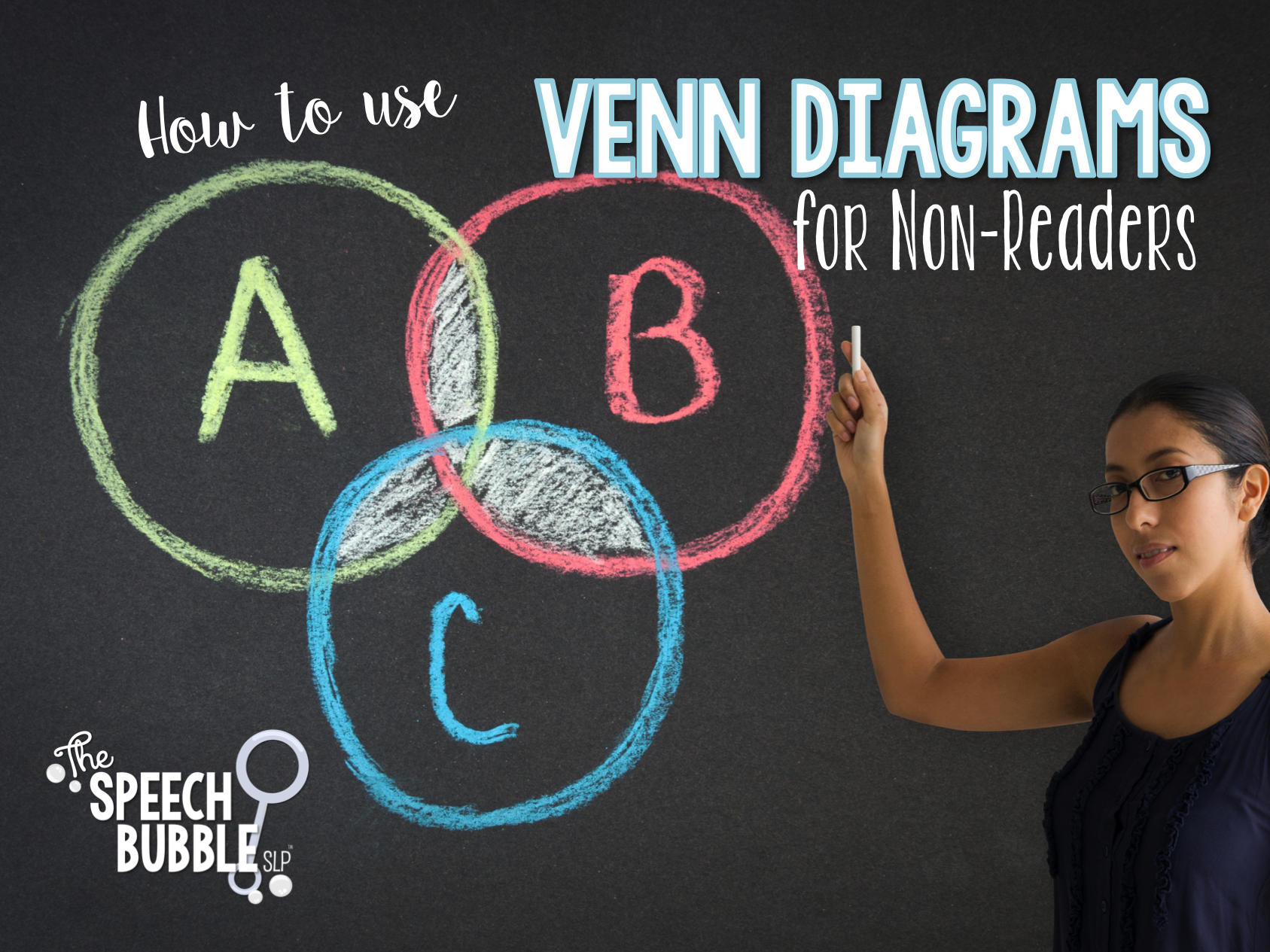 How to use Venn Diagrams for Non-Readers
