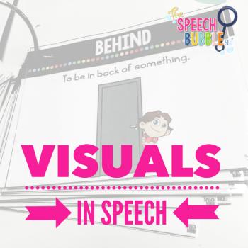 Visuals in Speech