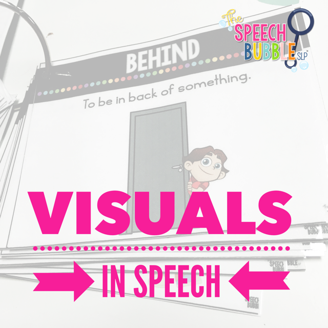 Visuals in Speech