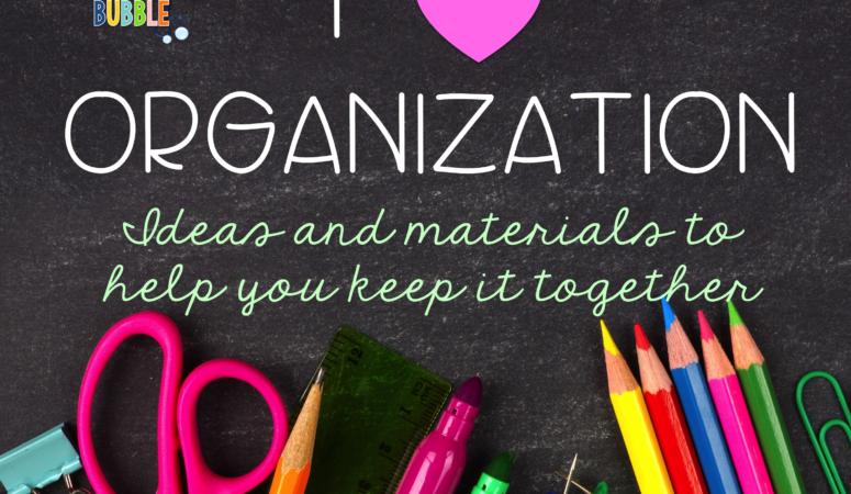 I Heart Organization! Tips on Organization for SLPs