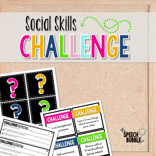 The Social Skills Challenge: Enforcing Target Skills in Speech