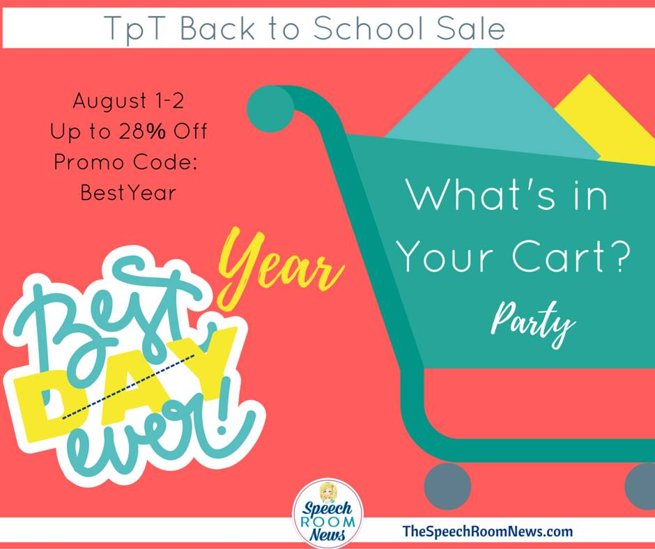 What's In Your TpT Cart?