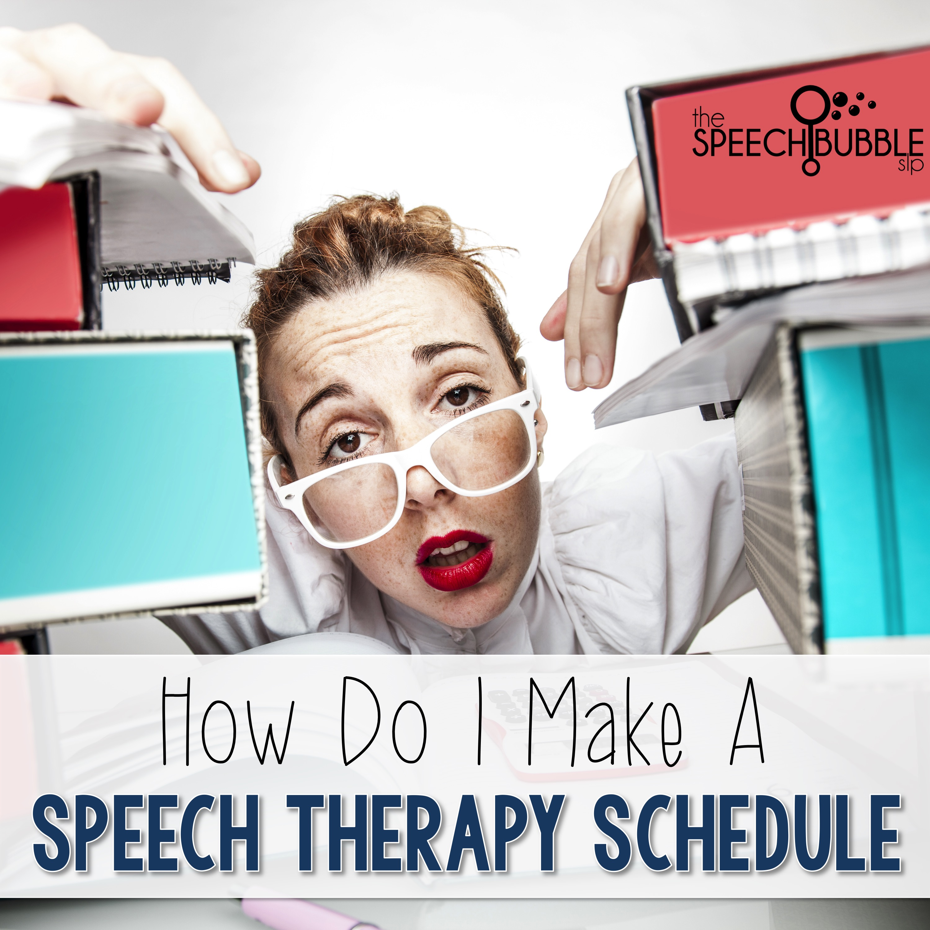 how to make a speech therapy schedule the speech bubble slp