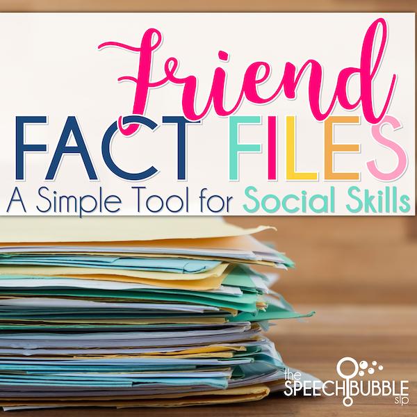 Friend Fact Files