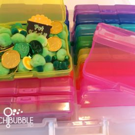 Sensory Bins To Go - Perfect For The Organized SLP