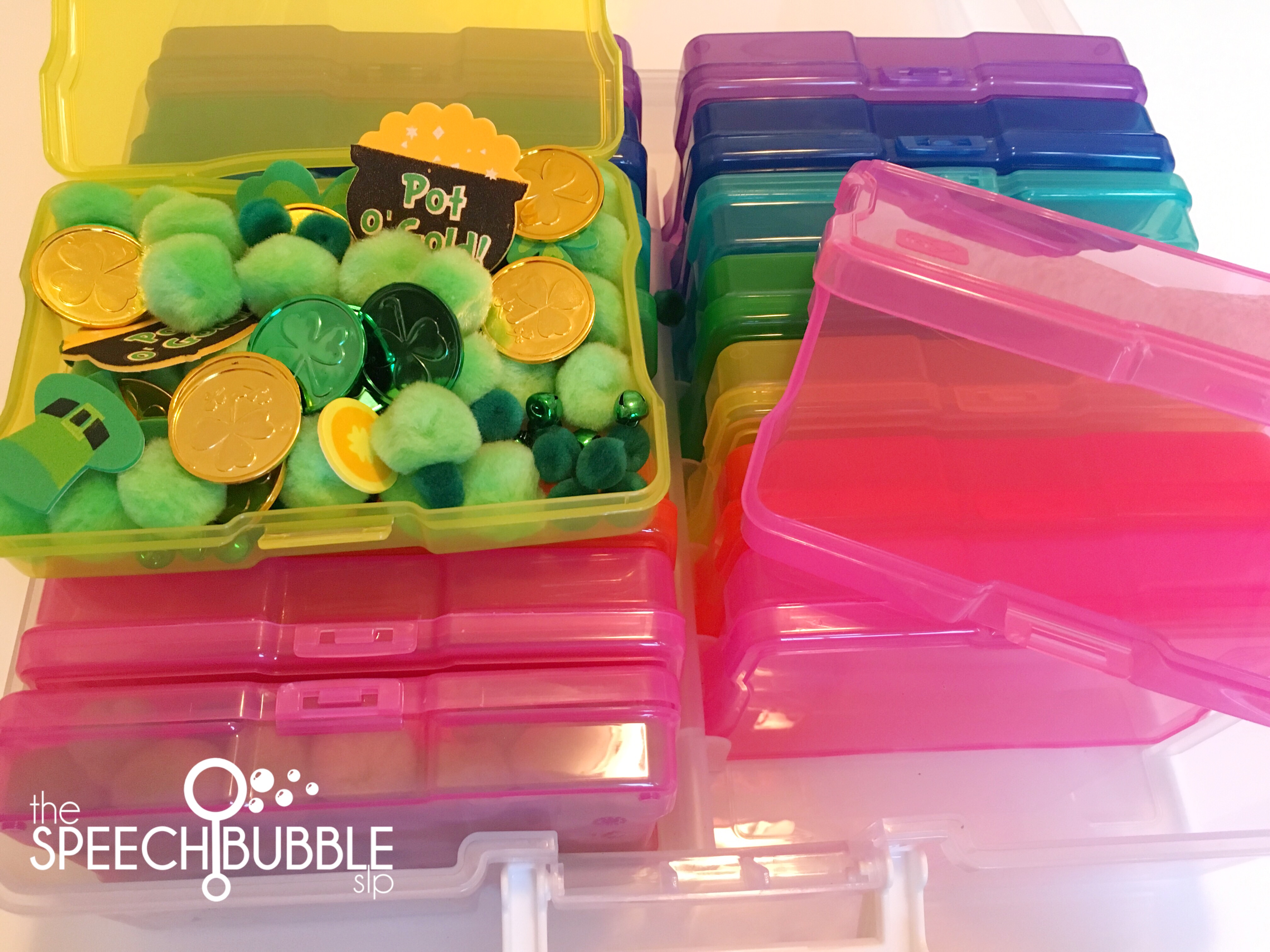 Mini Sensory Bins To Go