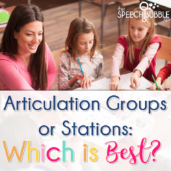 Articulation groups or stations, which is best?