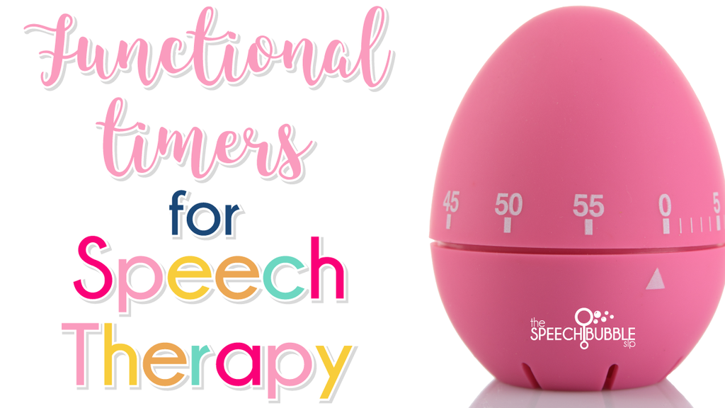Functional Timers for Speech Therapy