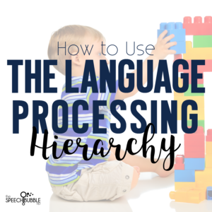 How to use the Language Processing Hierarchy