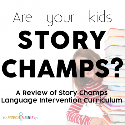 Are your kids Story Champs?