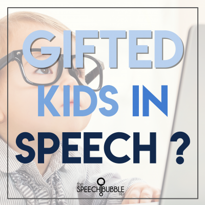 Gifted Kids in Speech?