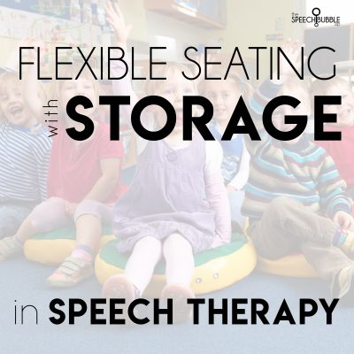 Flexible Seating and Storage for Speech Rooms