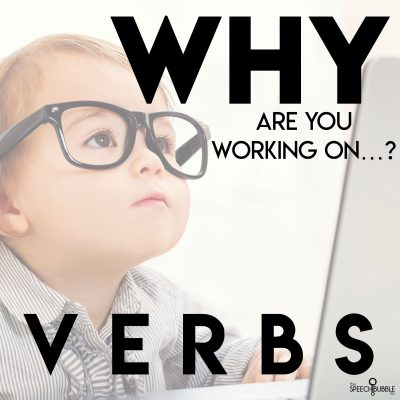 Why are you working on…verbs