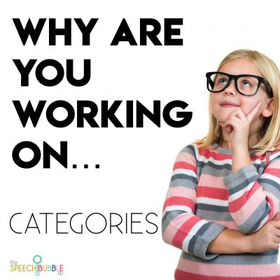 Why are you working on…Categories