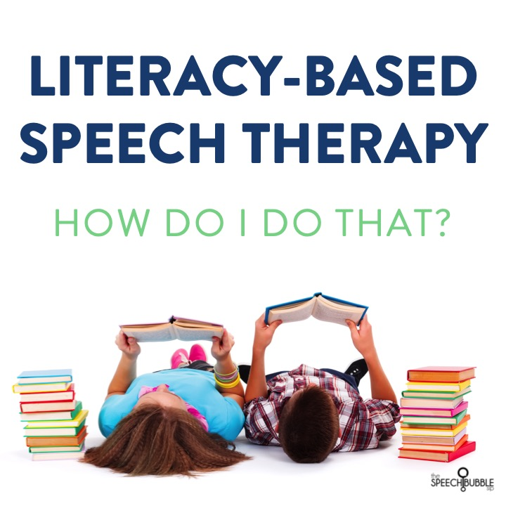 How to plan a literacy-based speech therapy session