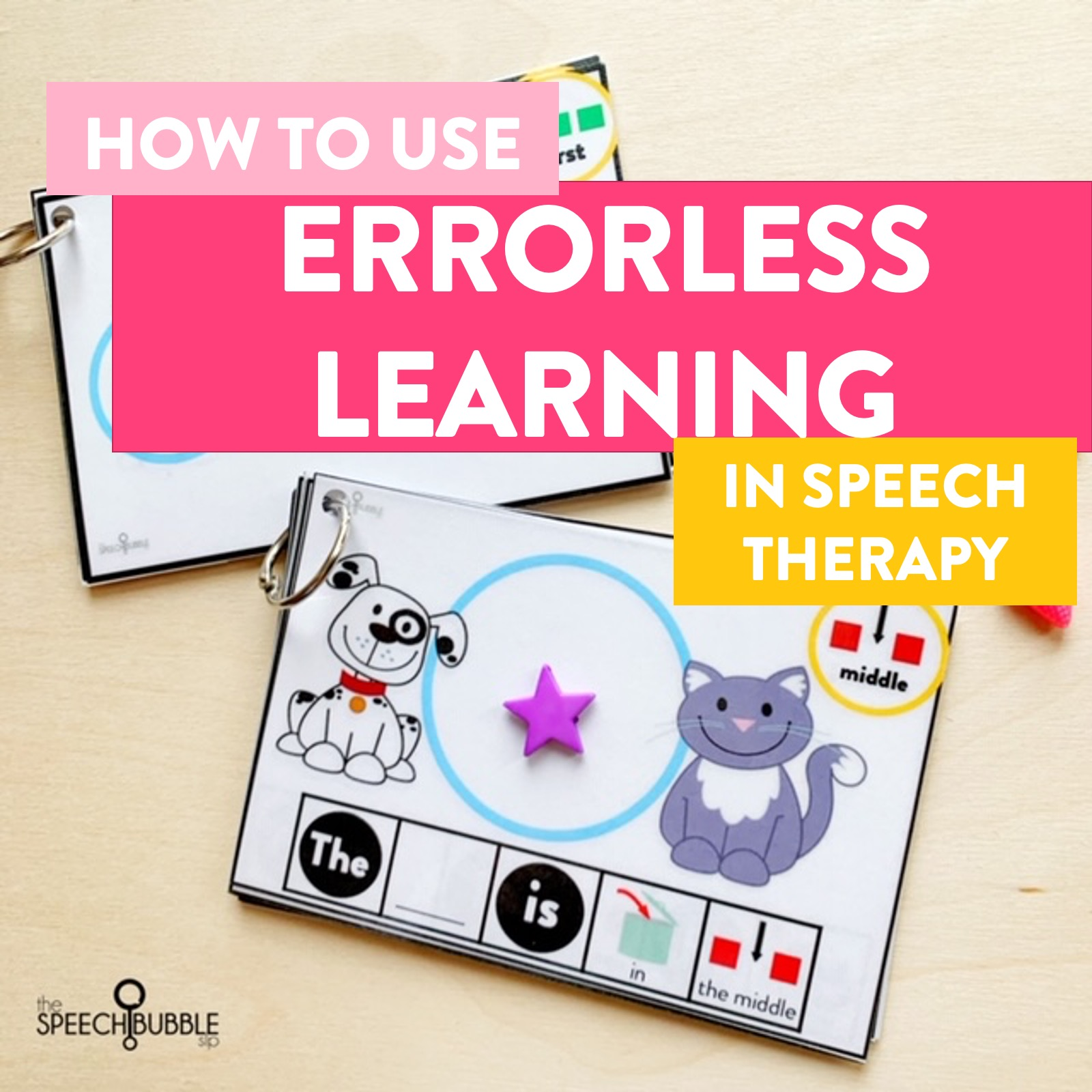 Errorless learning in Speech Therapy