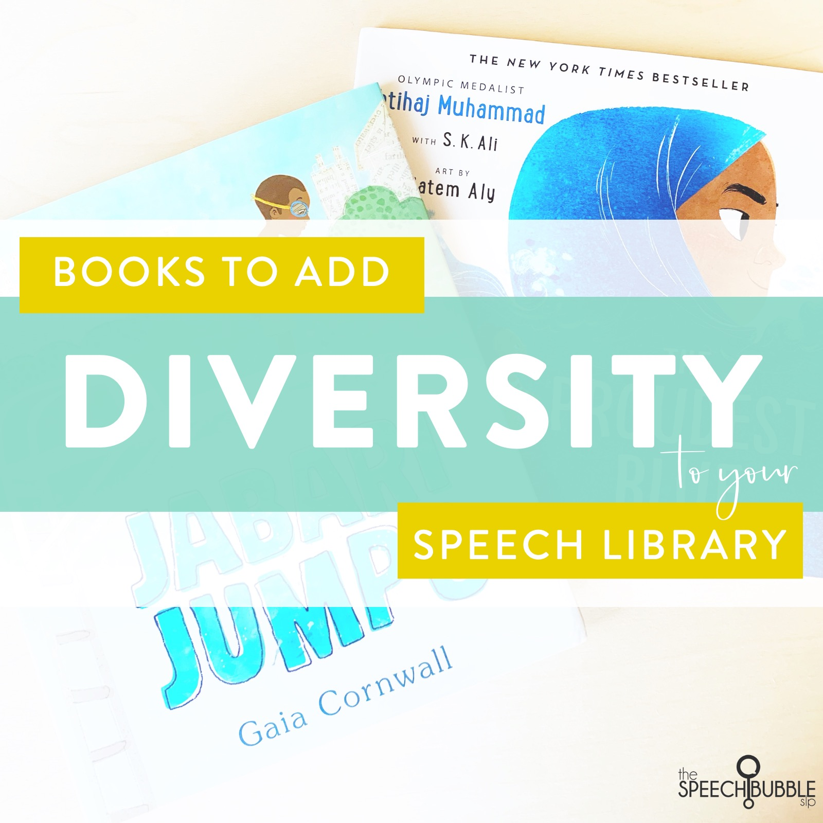 Books to add Diversity to your Speech Library