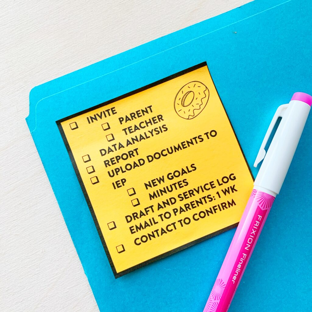 How to Stay Organized with Speech Therapy
