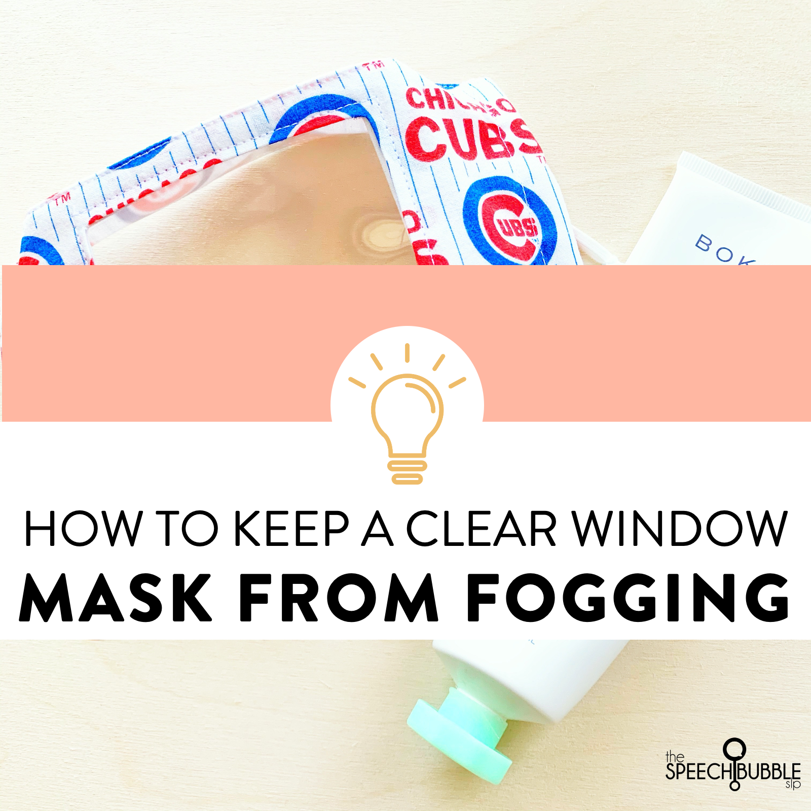 How to Defog a Clear Window Mask for Speech Therapy
