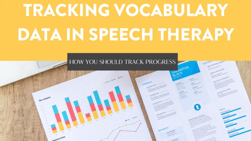 ways to track student vocabulary