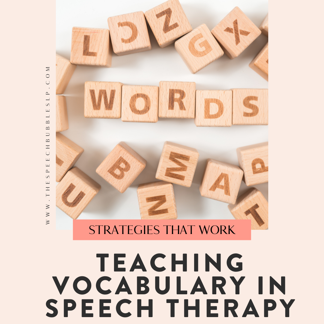 Teaching Vocabulary in Speech Therapy