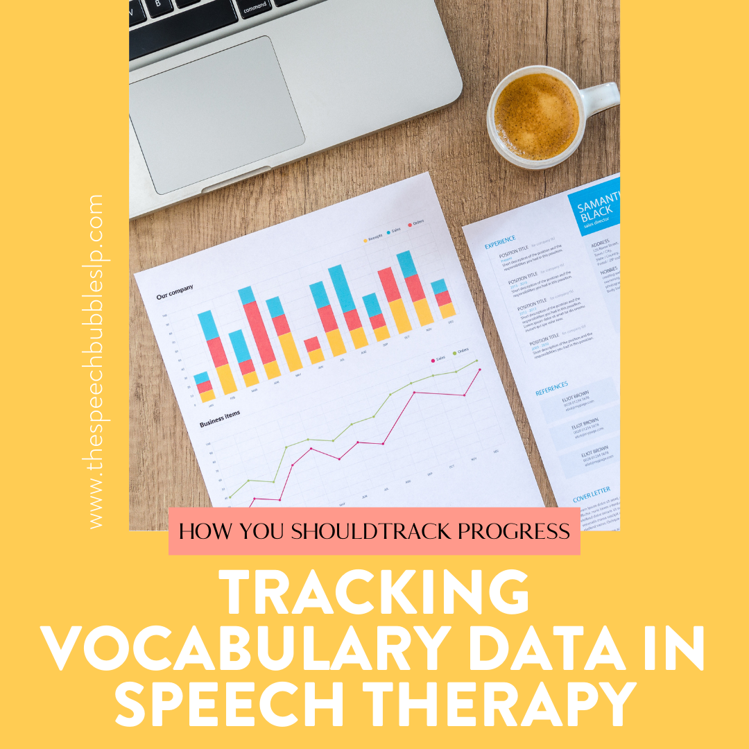 Tracking Vocabulary Data in Speech Therapy